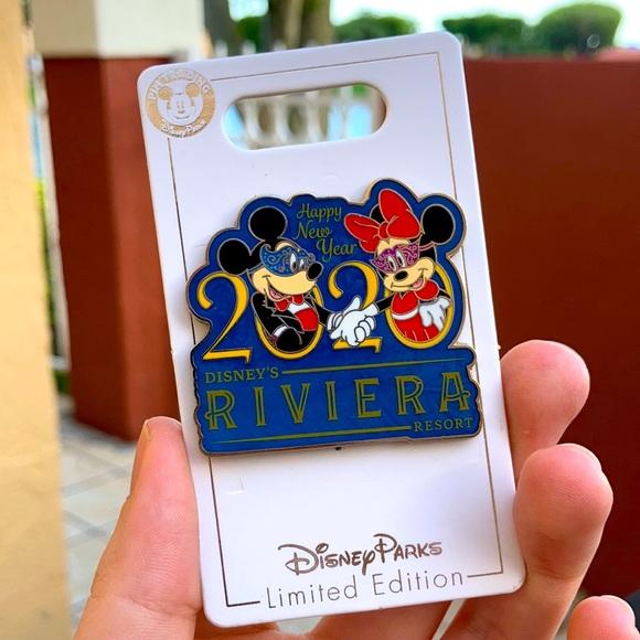 DISNEY'S RIVIERA RESORT HAPPY NEW YEAR 2020 PIN LE